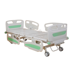 A-53 Hot Selling Medical Double Function Manual Hospital Bed for Patients