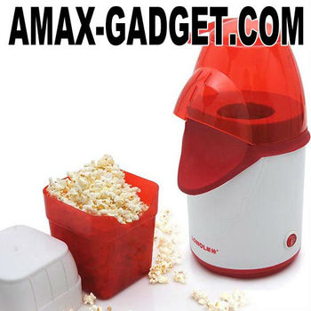 Kc-5208 Popcorn Maker Hot-air Cartoon Popcorn Maker With A Bucket ...