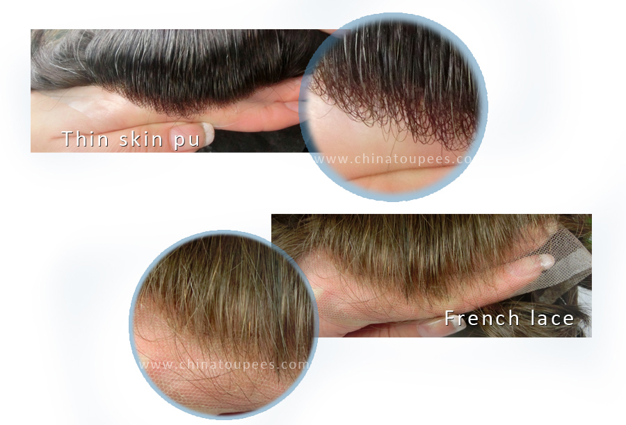 Best Hair Piece Full Lace Hair Prosthesis Curly For Man