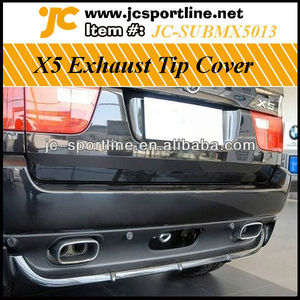 X5 Exhaust Pipe Cover ,Steel Car Covers For BMW