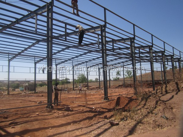 steel structure warehouse/prefabricated steel structure workshop/steel frame structure building