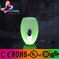 decorative lighting led inside rgb colorful solar operated solar power solar charging light flower pot