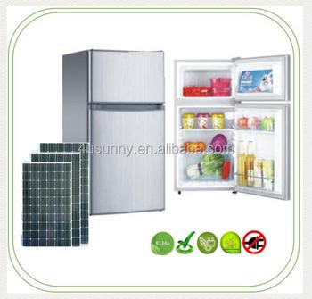 2Door Solar Power Refrigerator, 12V DC Mini Fridge