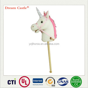 Unicorn Hobby Horse Stick Toy