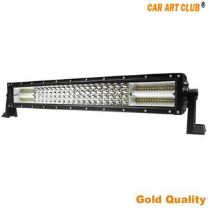 30000lm diy logo ip67 spot beam 300w 54 inch led light bar orange