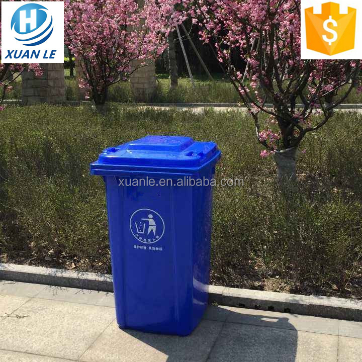 Stackable waste trolley bin with best quality and low price