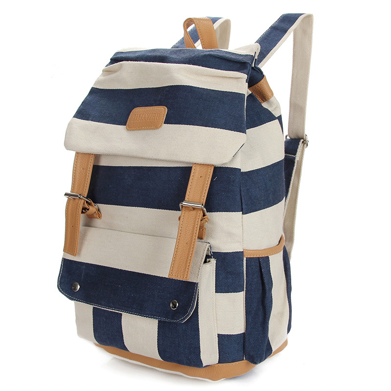 JZ7284 Fashion Canvas Oxford Backpack Printed School bag for Boy Girl Teenagers Casual Travel Mochila Rucksack Laptop Backpack