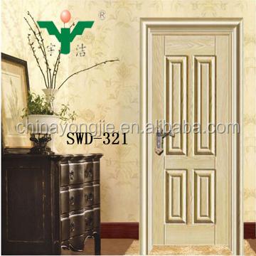 China Supplier Steel Wooden Door Country Style Interior Doors