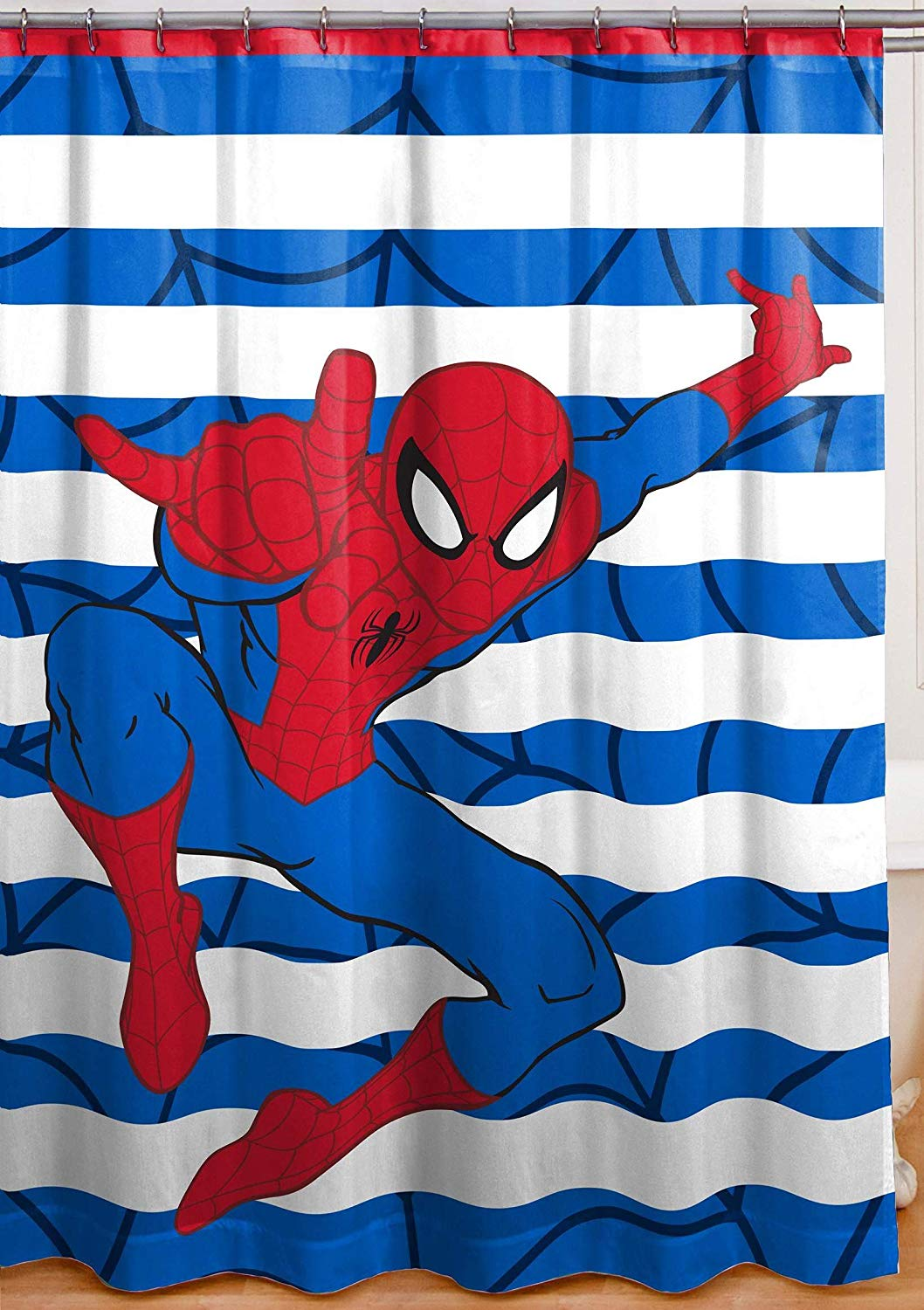 Get Quotations Franco Spiderman Shower Curtain