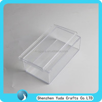 rectangle clear bakery dessert storage case plastic food box