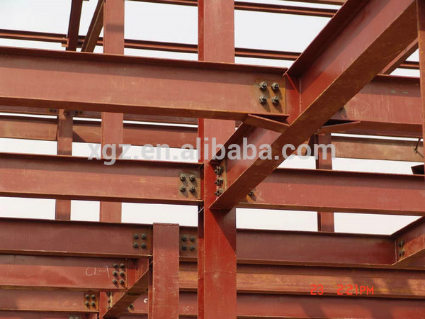 tow storey fast construction prefab light steel structure house