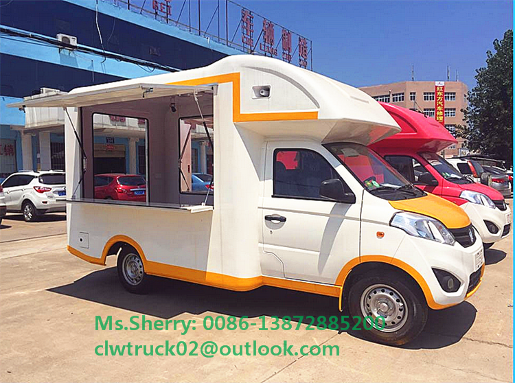 Good Price Foton 4x2 Mini Mobile Food Truck For Sale In Cambodia
