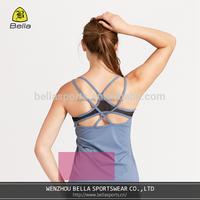 BELLA-E-21101 yoga crop top