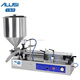 Semi-automatic washing hand fluid filling equipment washing hand fluid filler