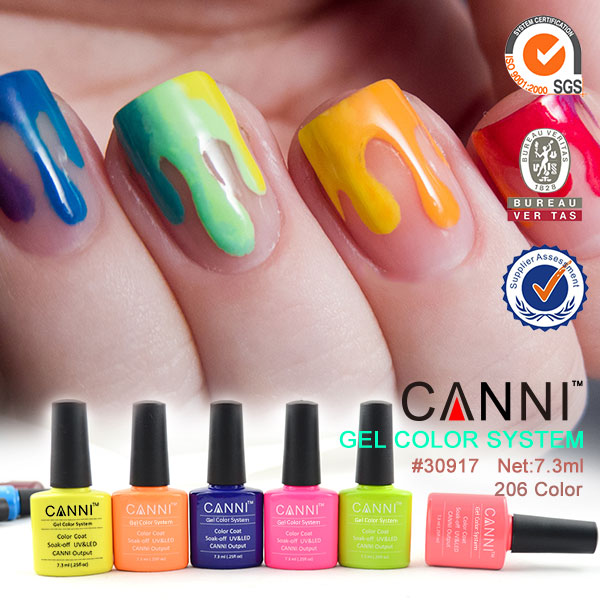 40213b Canni Factory Gel Nail Polish Kit Gel Color Set & Nail Tools ...