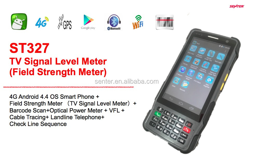ST327 Cable TV Signal Level Meter /CATV Testing Digital Signal Level Meter/Field strength meter