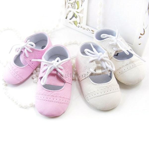 Baby Girls British Style Soft Sole HQ PU Leather Hollow Breathable Toddler Shoes