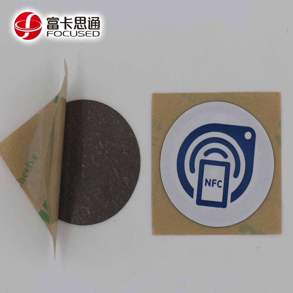 Custom 13.56MHZ Metal Tags For Assets Control Anti-metal NTAG 213 NFC Tag