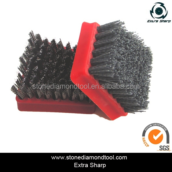 Dupont Nylon Frankfurt Abrasive Brush Diamond Silicon-Carbide Tools for Marble/Granite/Concrete