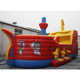 ZZPL Inflatable Pirate Ship Bouncer /inflatable castle for sale