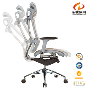 Foshan office furniture belarus market BIFMA passed full mesh glider recliner chair