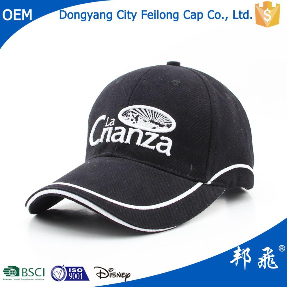 3d Embroidery Custom Baseball Cap Hat Factory Golf Hats