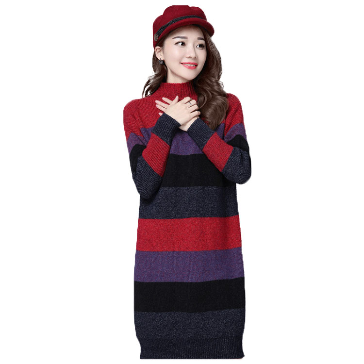 Latest Dasign Women Fashion Cashmere Like 100% Acrylic Sweater