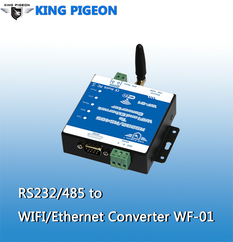 Industrial <strong>WIFI</strong> data transmission devices via serial to <strong>wifi</strong> RS232/485 converter WF-01