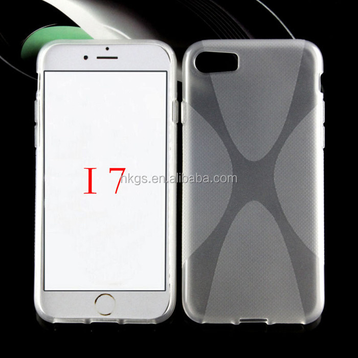 Shockproof Rugged Gasbag Transparent Tpu Back Cover Case For iPhone 7 Case