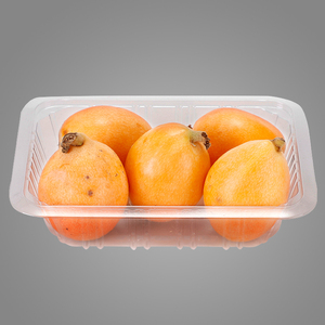 High Transparency Environmental PET Plastic Fruit Tray