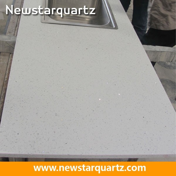 Charming Crystal White Sparkle Quartz Stone Countertop   Buy Quartz Stone Countertops,White  Sparkle Quartz Stone Countertop,Sparkle White Quartz Countertop Product ...