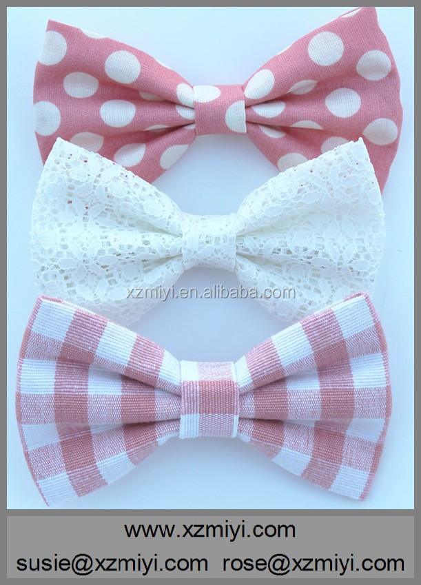 Pink Combo Teenage Girl Hair Bow Hairbows Clip Barrette Big Hair Bow For Girls