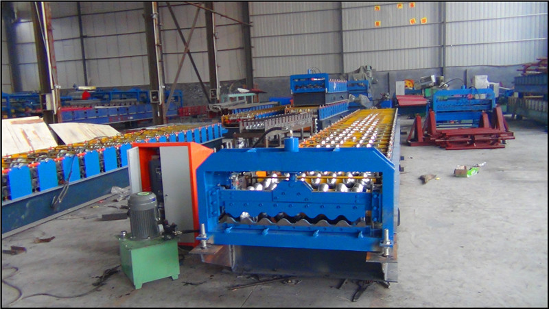 roof tiles machine south africa,color tile forming machine