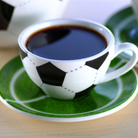 2016 best selling product ceramic mug creative football world coffee cups