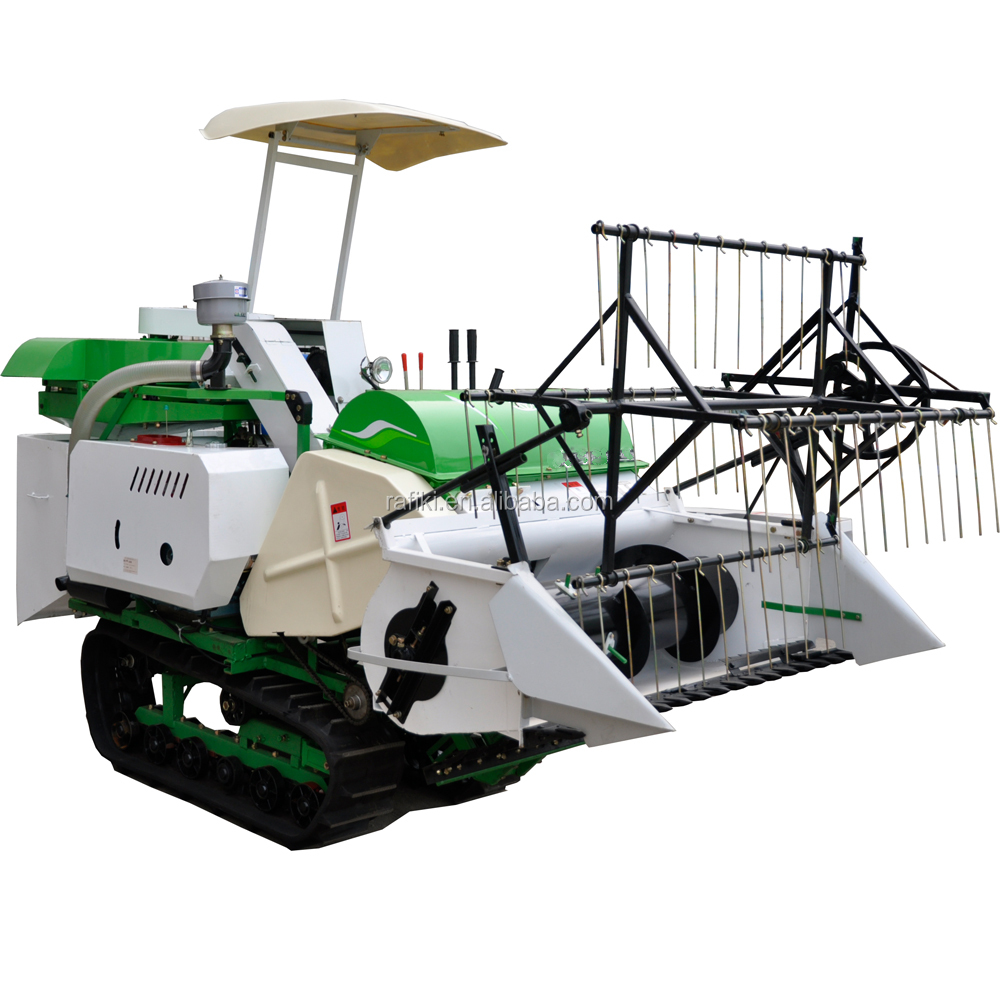 PADDY HARVESTER PRICE / mini harvester machine / mini combine harvester price in india