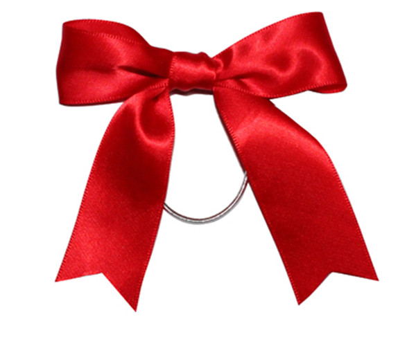 Red Pre Tied Ribbon Bow With Elastic Loop For Gift Packaging kids Ribbon  Bow Hair Clip yellow Ribbon Bow 0f9c3eabdbc