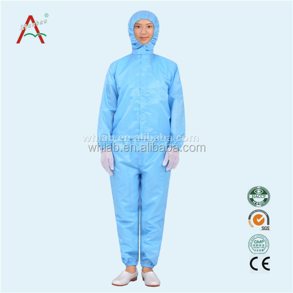 Made in China Esd garmet for factory overall antistatic clothes