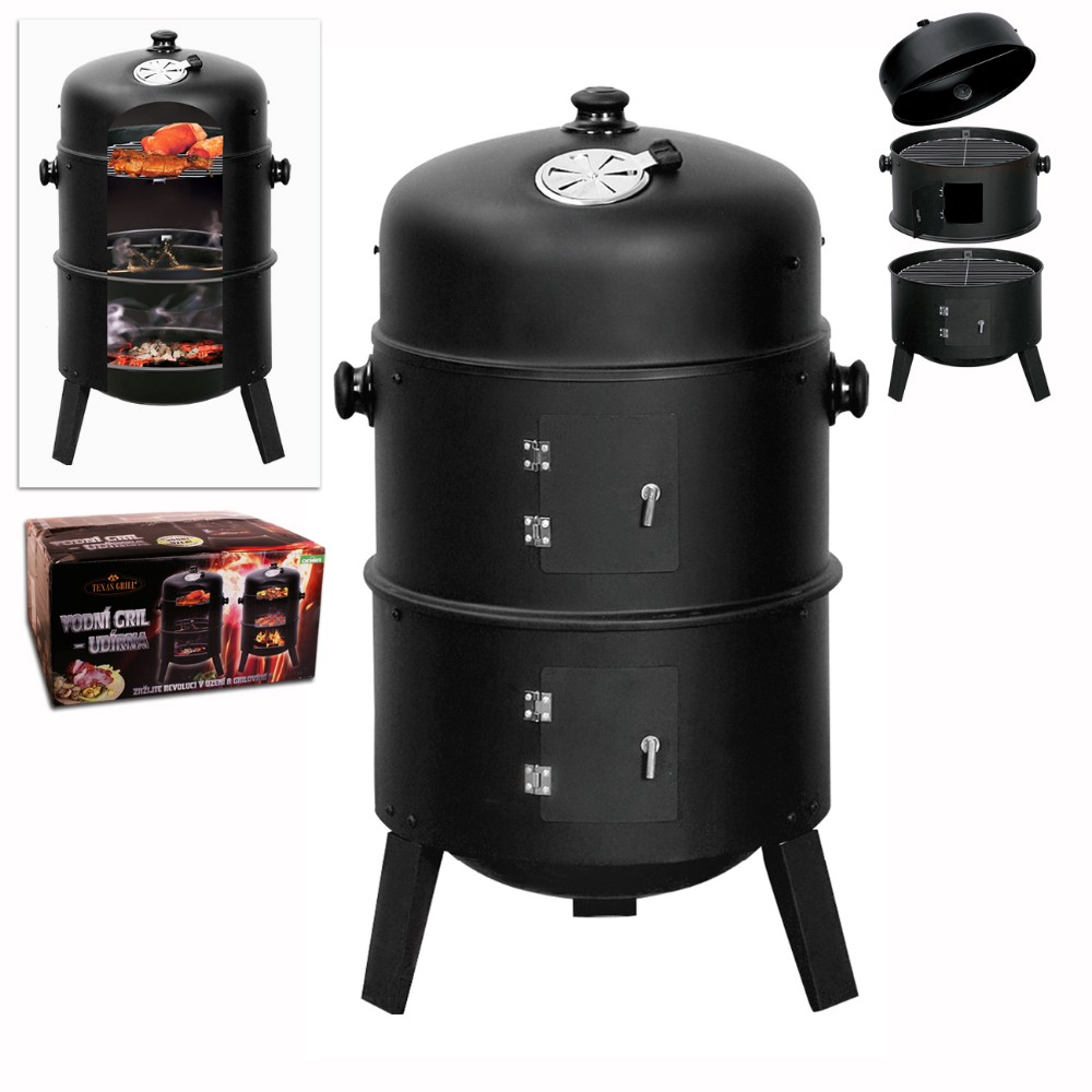 "KEYO hot sale cheap high quality smoker 16"" charcoal Portable bbq smoker"