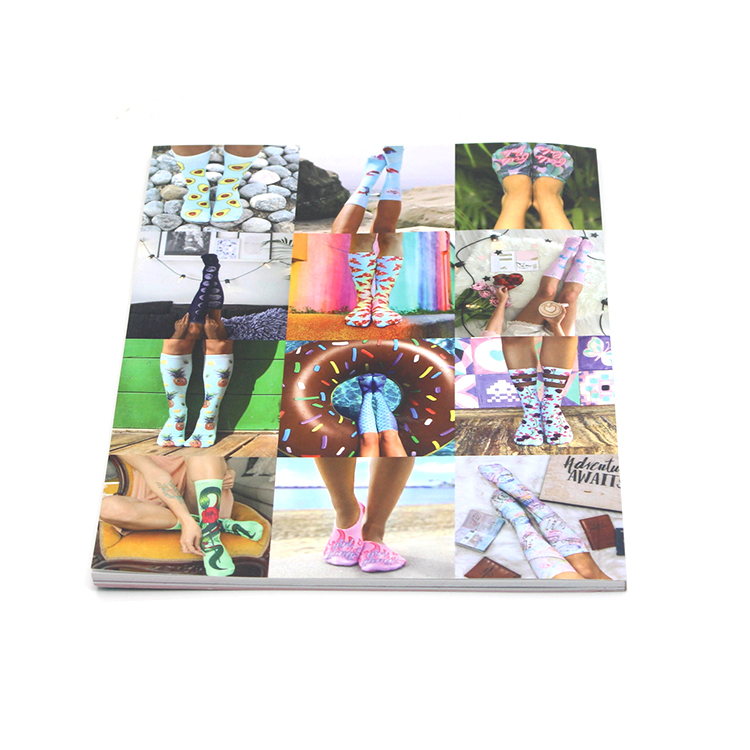 High Quality Custom Size my hot book printing fanny softcover catalog  overseas catalog printing