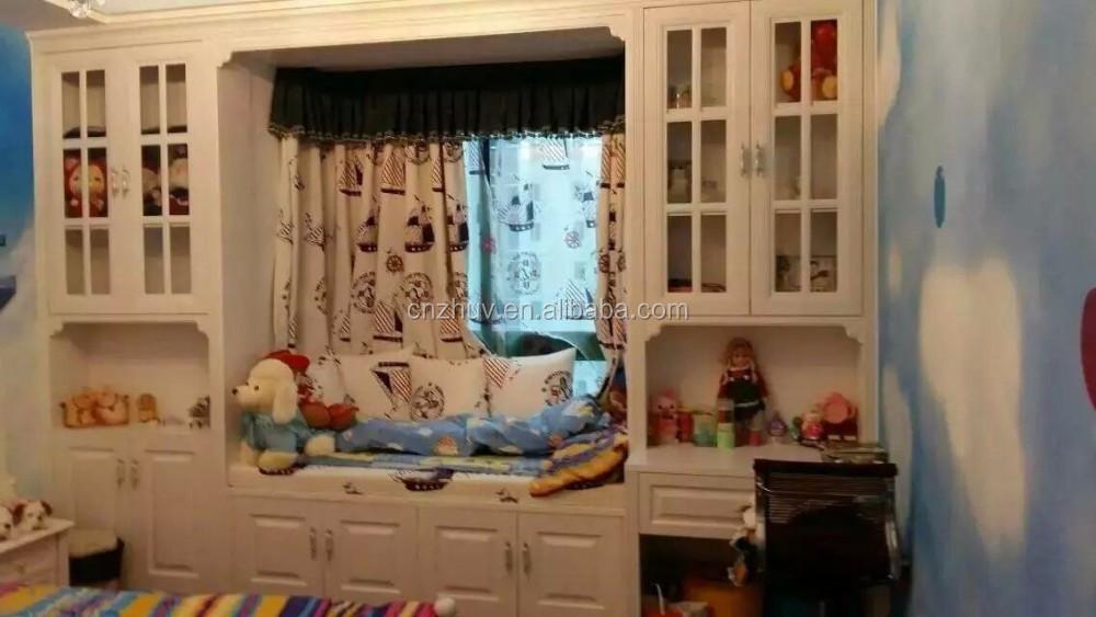 Parete a parete scorrevole letto a castello con scrivania armadio ...