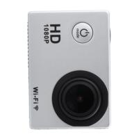 2016 Silver WIFI wireless SJ4000 Waterproof car cam Sports Mini DV FHD 1080P 12MP Video Action Camera Camcorder EU