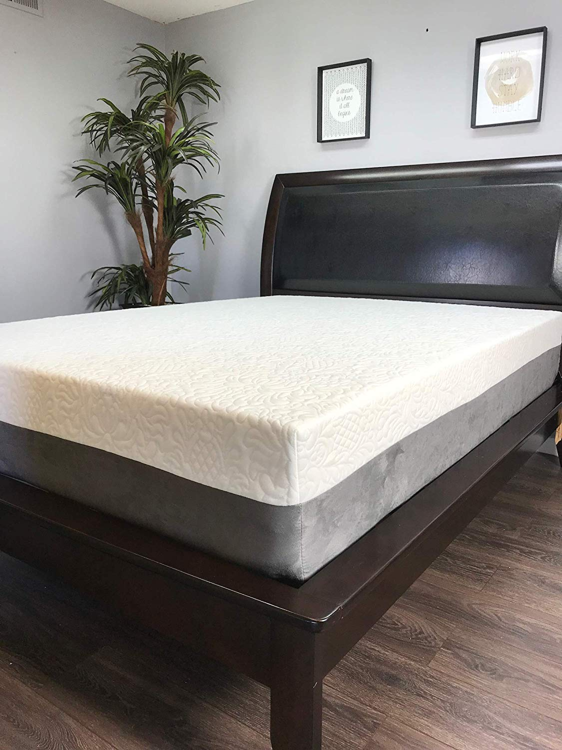 American Mattress Company - 12in Gel Infused Memory Foam Mattress - 100% Made in USA - 20 Year Warranty - CertiPur Foam - Chiropractic Endorsed (Twin Long)