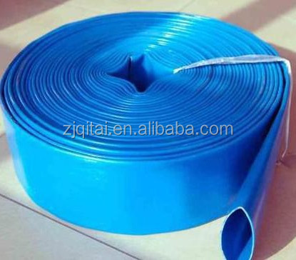 25 to 200mm agriculture eva coating material flexible layflat hose