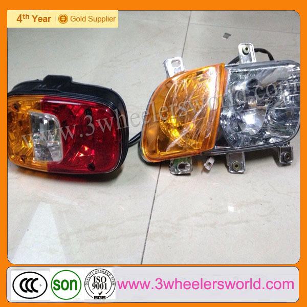 Bajaj RE205 Three Wheeler Tuk Tuk Tricycle Spare Parts of Front & Rear Light