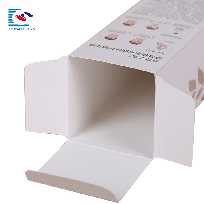 SENCAI hot sale  custom printing foldable  packaging art paper box for shampoo