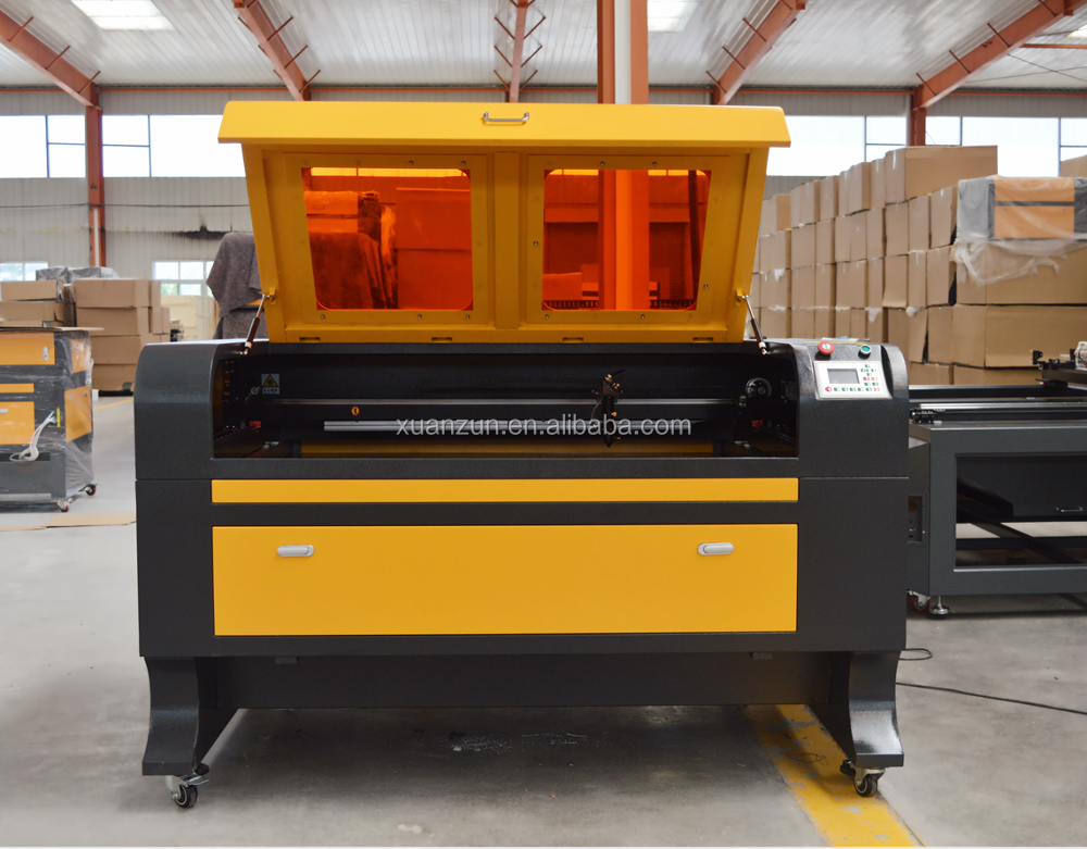 wooden acrylic rubber laser engraved cutting machine 1690