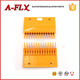 YS013B578 Escalator Middle Yellow Plastic Comb Plate With 14 Teeth
