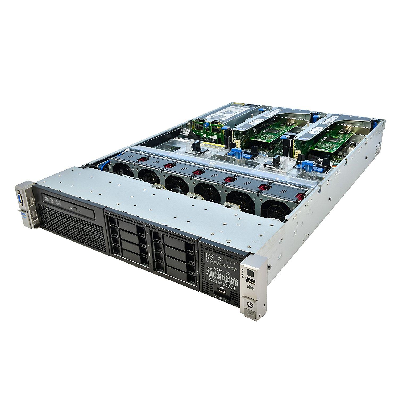 HP ProLiant DL380P G8 2x 2.60Ghz E5-2670 8 Core 256GB 8x NEW 900GB 10K SAS SED (Certified Refurbished)
