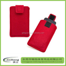 felt case for cell phone woolen/ felt cell phone case