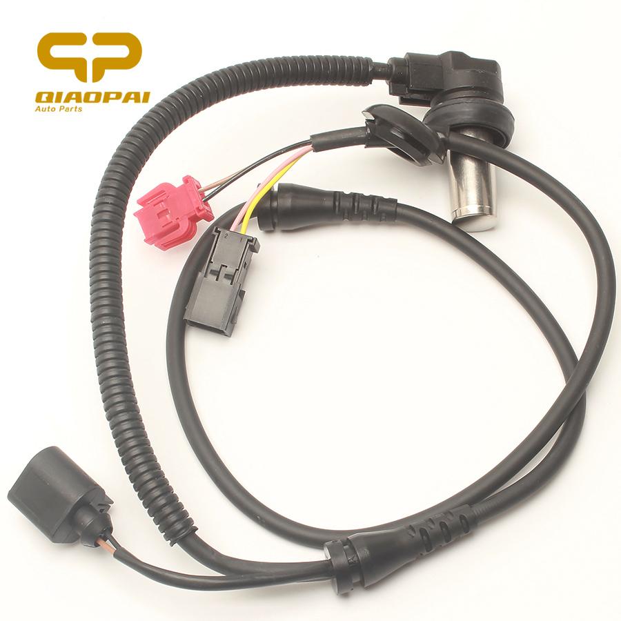 ABS Wheel Speed Sensor Rear 98-05 Audi A6 VW Passat 3B0927807B 8E0927807 ALS421